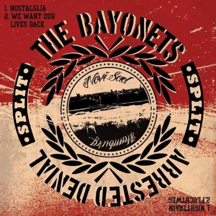 arresteddenial-thebayonettes-split-ep
