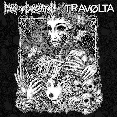 Days of Desolation / Travolta – Split 10″