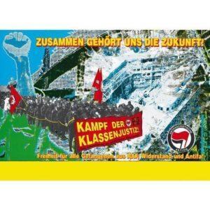 Kunst und Kampf – Weiterstadt Plakat