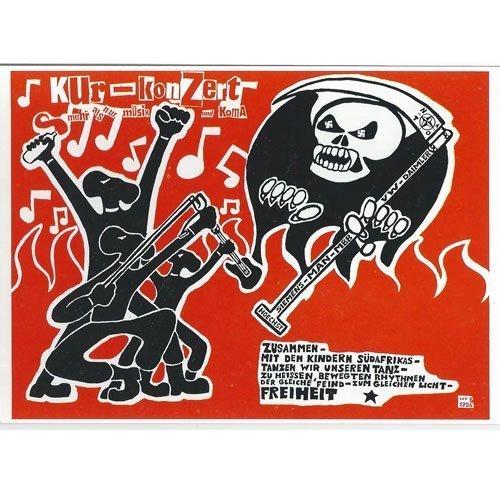 Kunst und Kampf – Kurkonzert Postcard