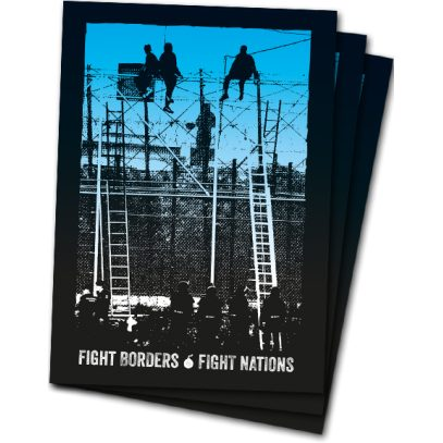 Fight Borders – Fight Nations – Sticker
