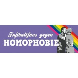 Fussballfans gegen Homophobie – Sticker