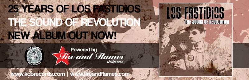 Los Fastidios – The Sound Of Revolution
