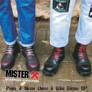 Mister X – Punx & Skins Unite & Win LP