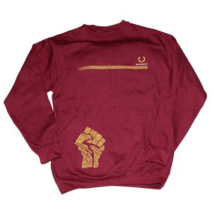 """Solidarity"" Sweatshirt (bordeaux)"