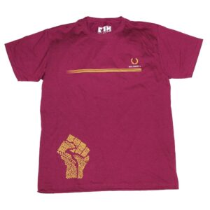 """Solidarity"" T-Shirt (bordeaux)"