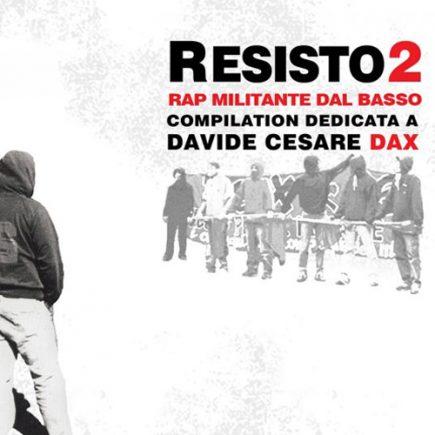 VA-Resisto 2-Rapmilitantedalbasso-cd