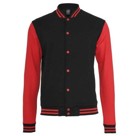 Urban Classics College Jacket Red