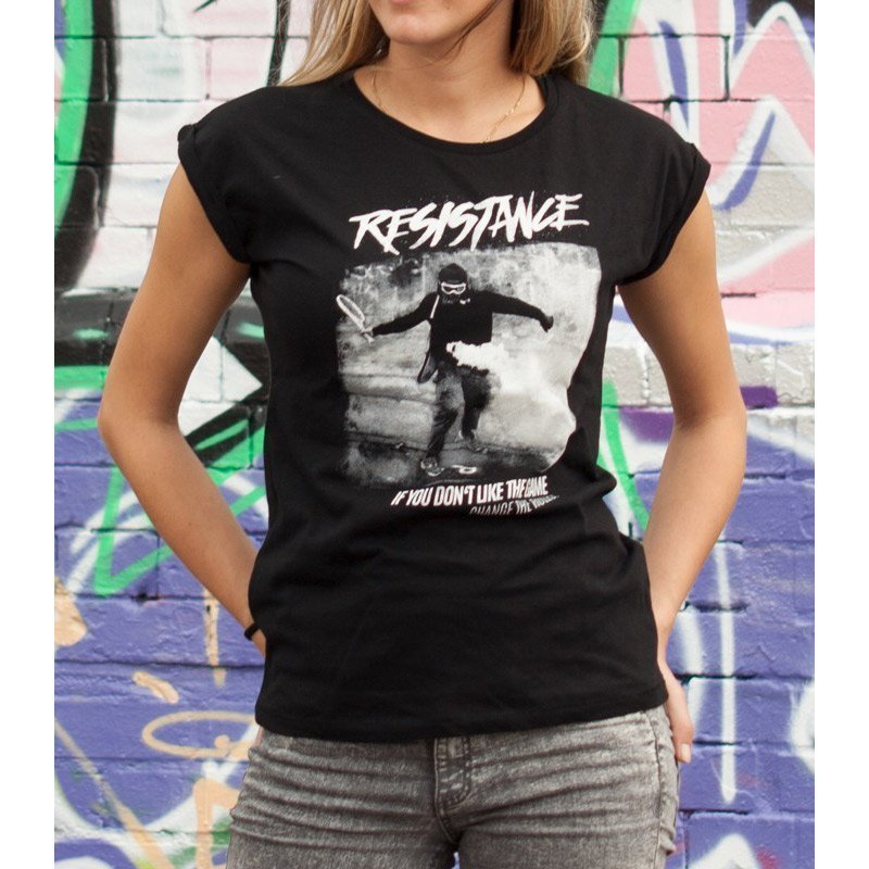 "Mob Action ""Resistance"" Ladies Shirt"