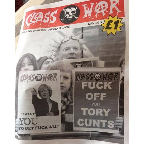 Class War May 2017 Newspaper