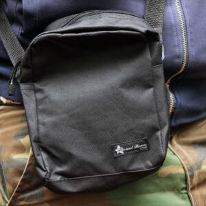 "Pusher Bag ""Red Heat"" (schwarz)"