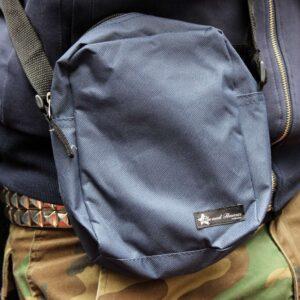 "Pusher Bag ""Red Heat"" (navy)"