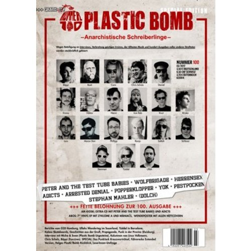 Plastic Bomb #100 (Fall 2017)