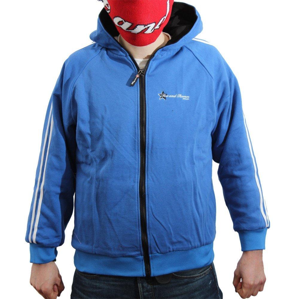 """""""Deep Blue"""" Reversible Hooded Jacket"""