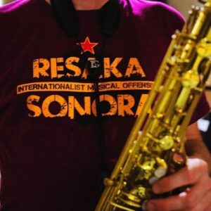 "Resaka Sonora ""Internationalist Music Offensive"" T-Shirt"