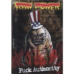 Raw Power – Fuck Authority Do-CD
