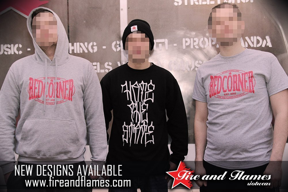 [NEW DESIGNS] Red Corner & Hate the State