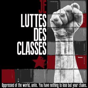 """""""Luttes des Classes"""" Tailliertes Shirt"""