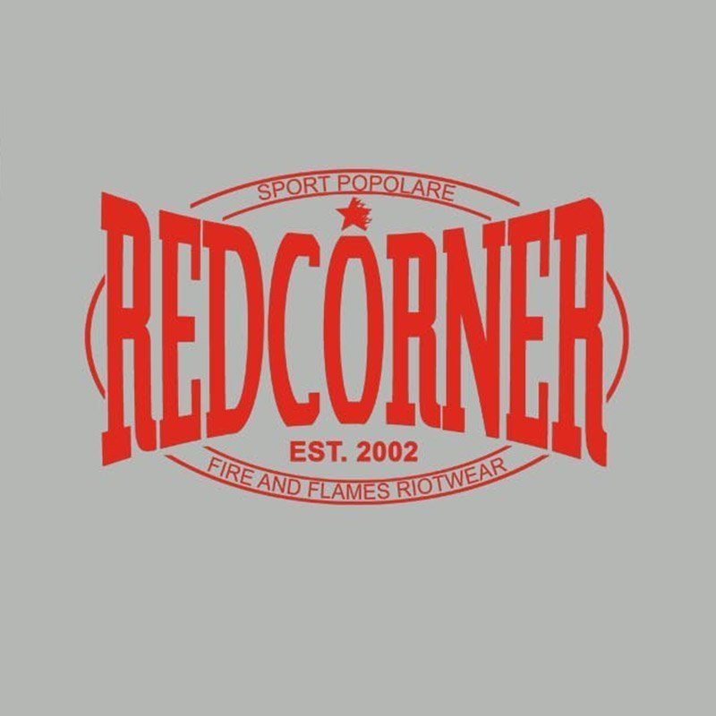"""Red Corner "" Box Shirt"