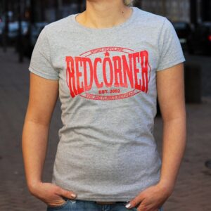 """Red Corner"" Tailliertes Shirt"