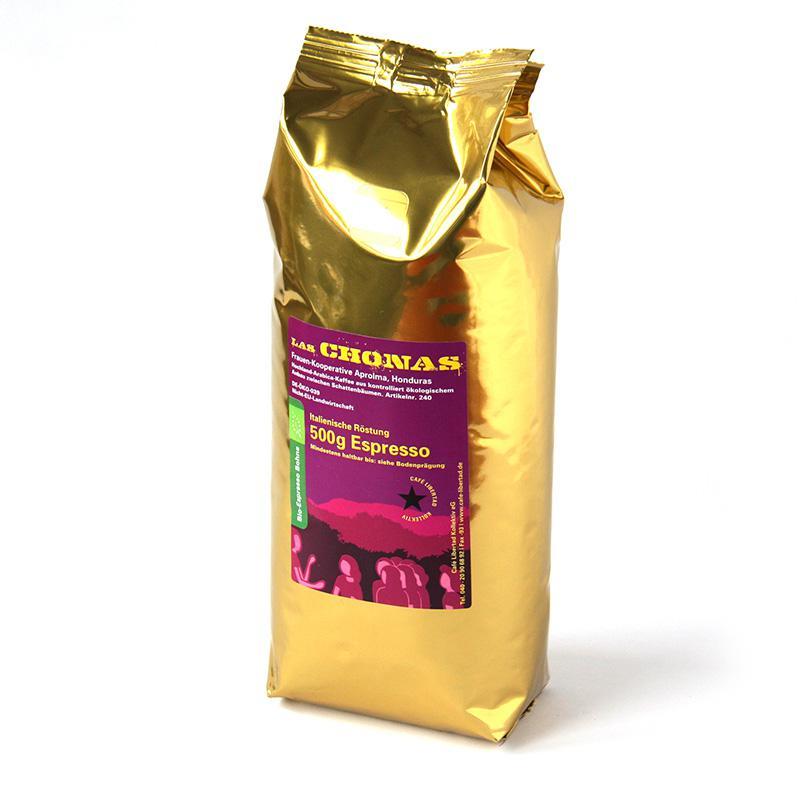 Bio-Espresso Las Chonas ital. roast 500g beans