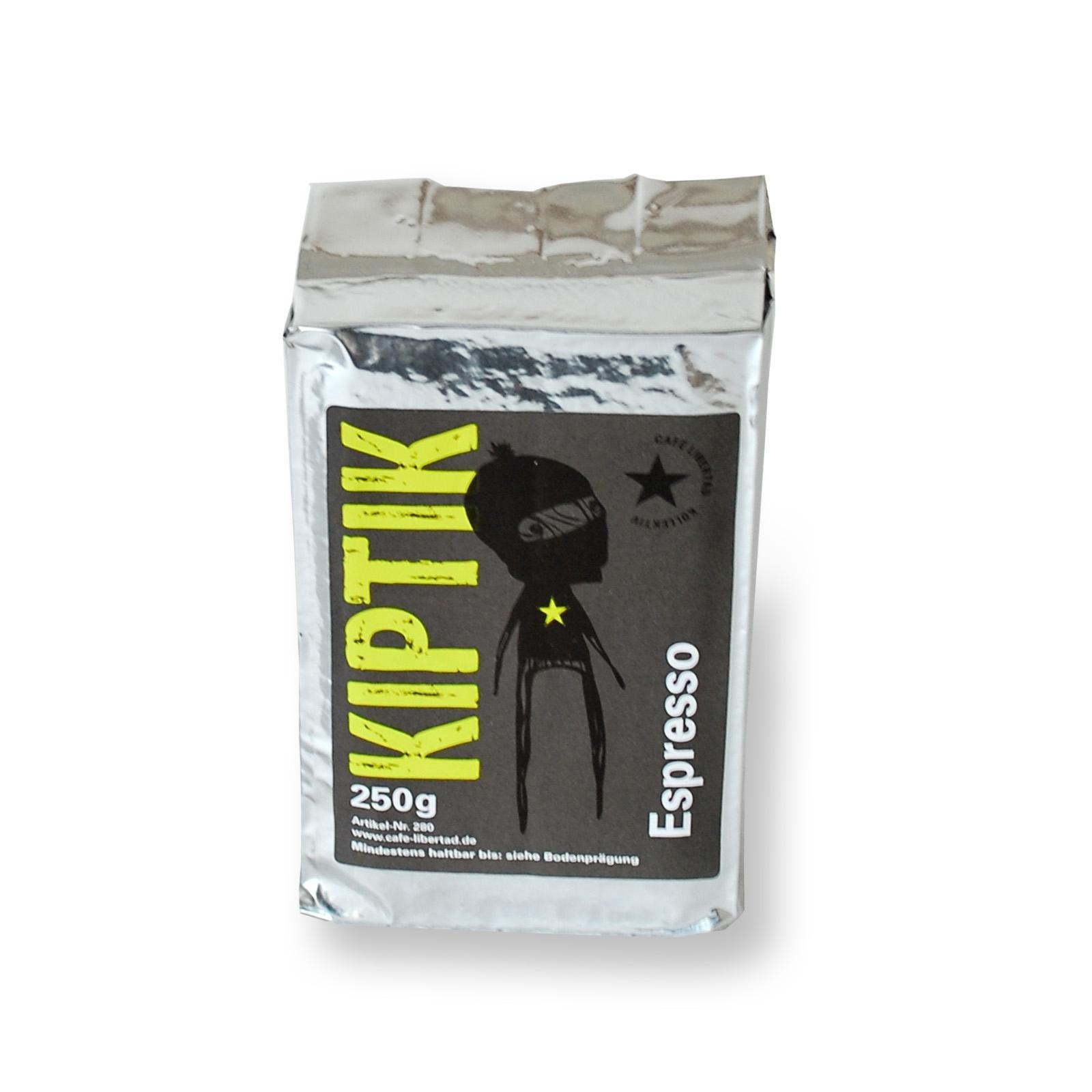 Solidaritäts-Espresso Kiptik 250g ground