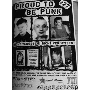 Proud To Be Punk #27 Fanzine