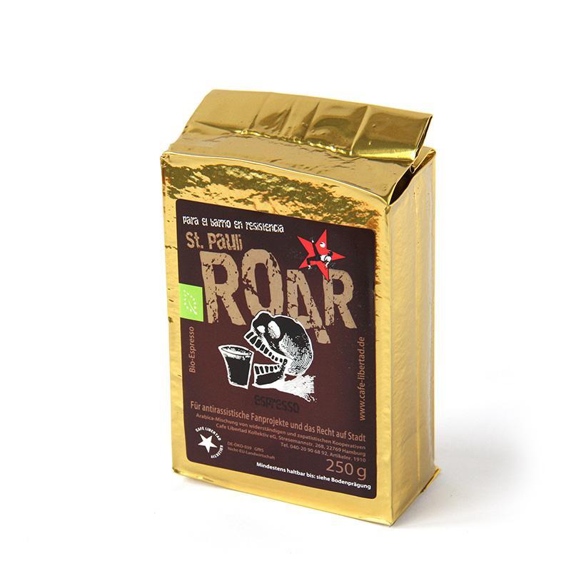 Bio-Espresso St. Pauli »Roar« 250g ground