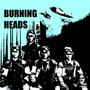 Burning Heads – s/t 7″