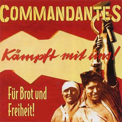 Commandantes – Für Brot und Freiheit! CD