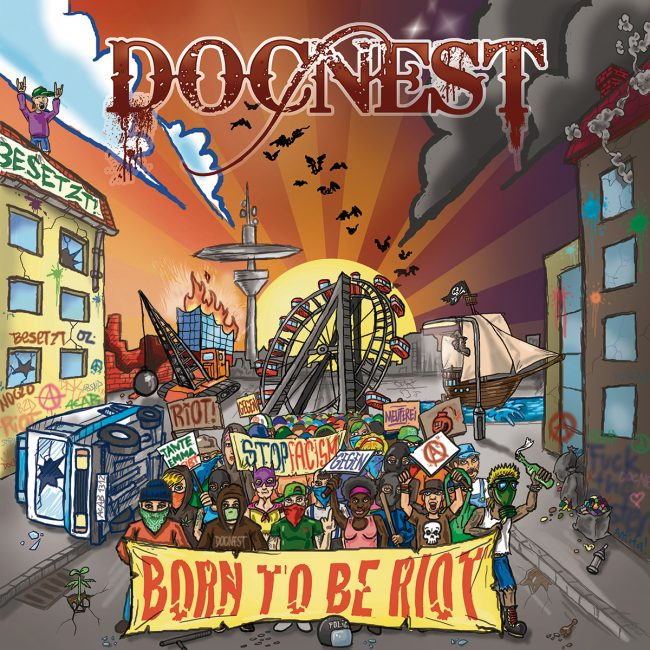 [FFM056 OUT NOW] DOCNEST – BORN TO BE RIOT