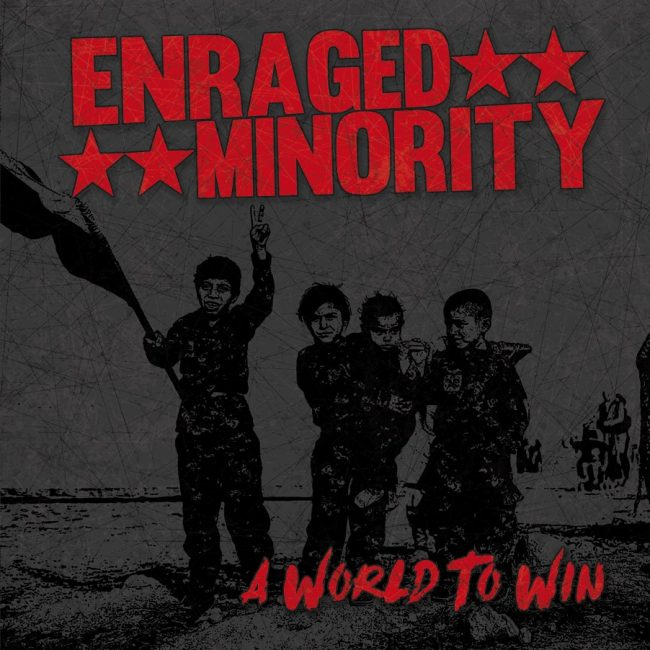 [FFM057 OUT NOW] ENRAGED MINORITY – A WORLD TO WIN