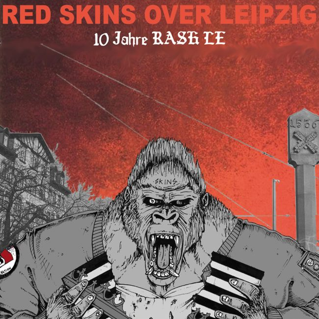 Red Skins Over Leipzig