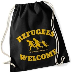 Refugees Welcome – Sportbeutel