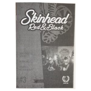 Skinhead Red & Black Fanzine #3