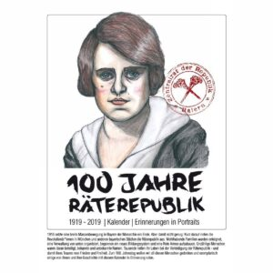 100 Years Bavarian Soviet Republic – Wall calendar 2019
