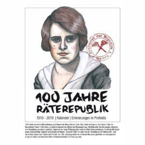 100 Jahre Räterepublik – Wandkalender 2019