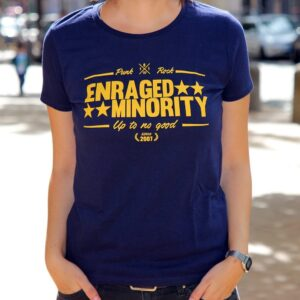 "Enraged Minority ""Casual Navy"" Tailliertes Shirt"