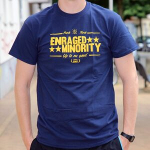 "Enraged Minority ""Casual Navy"" T-Shirt"