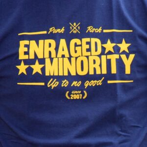 "Enraged Minority ""Casual Navy"" Ladies Shirt"