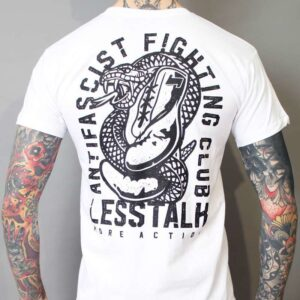 "Less Talk ""Snake White"" T-Shirt"