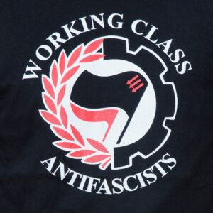 """Working Class Antifascists"" Hoodie"