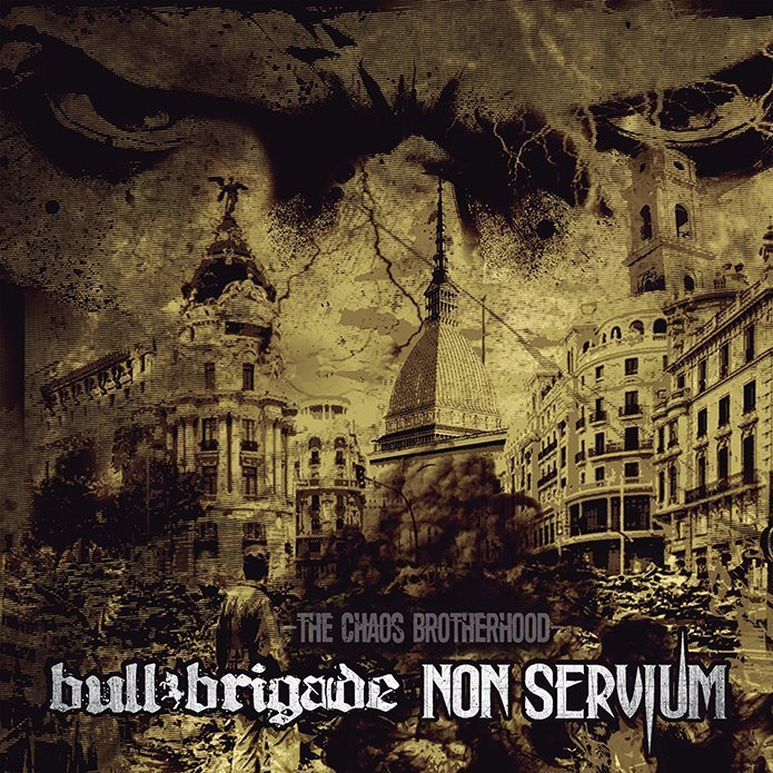 [FFM060 OUT NOW] Non Servium / Bull Brigade – The Chaos Brotherhood Split 10″ EP
