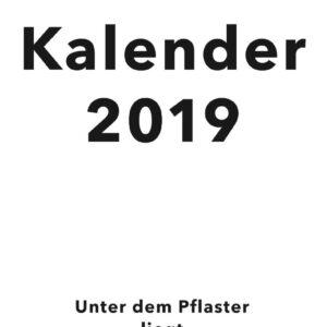 Antifa Kalender 2019