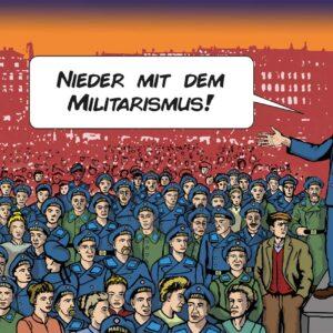 Der Matrosenaufstand 1918 in Kiel (Comic) – Bernd Langer