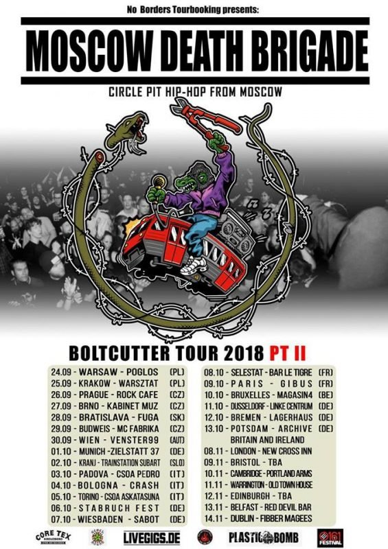 Tours, tours, tours! [Moscow Death Brigade, Mister X and Docnest]
