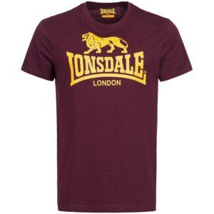 "Lonsdale ""Logo"" T-Shirt (burgund)"