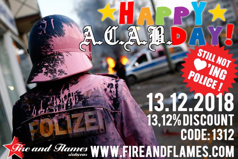 13.12.2018 – HAPPY ACAB DAY