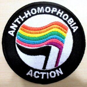 Anti-Homophobia Action – Aufnäher