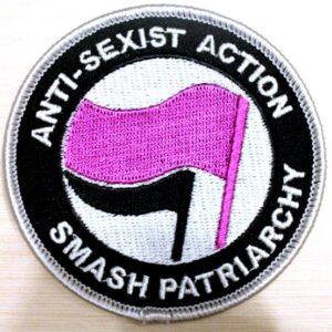 Anti-Sexist Action – Aufnäher